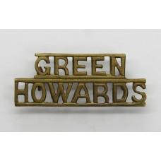 Green Howards (GREEN/HOWARDS) Shoulder Title