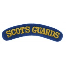 Scots Guards (SCOTS GUARDS) Cloth Shoulder Title