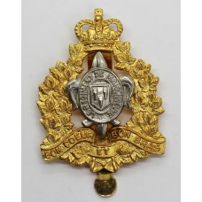 Canadian Le Regiment De Maisonneuve Cap Badge - Queen's Crown