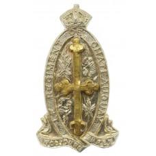 Canadian Le Regiment de Chateauguay Cap Badge