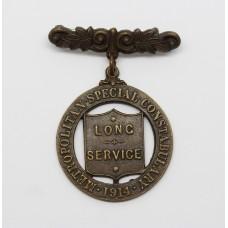1914 Metropolitan Police Special Constabulary Long Service Medal