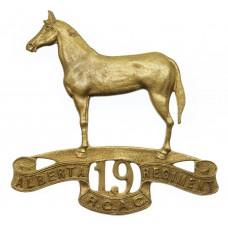 Canadian 19th Alberta Regiment R.C.A.C. Cap Badge