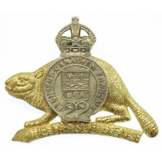 Canadian Royal 22nd Regiment Cap Badge - King's Crown