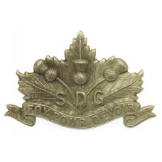 Canadian Stormont, Dundas & Glengarry Highlanders Cap Badge