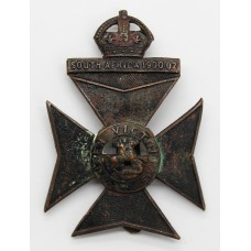 9th County of London Bn. (Queen Victoria's Rifles) London Regiment Cap Badge