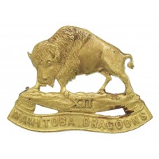 Canadian 12th Manitoba Dragoons Cap Badge