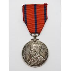 1911 Metropolitan Police Coronation Medal - PC. A. Cook