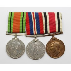 WW2 Defence & War Medal and George VI Special Constabulary Lo