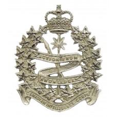 Canadian Intelligence Corps Cap Badge - Queen's Crown