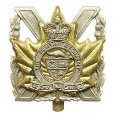 Canadian The Perth Regiment Cap Badge - Queen's Crown