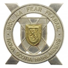 Canadian Nova Scotia Highlanders Cap Badge