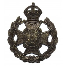 7th (Robin Hoods) Bn. Sherwood Foresters (Notts & Derby Regiment) Cap Badge - King's Crown