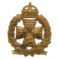 Inns of Court Regiment Cap Badge - King's Crown