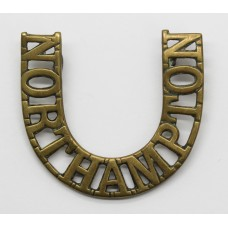 Boer War Northamptonshire Regiment (NORTHAMPTON) 'Horse Shoe' Sho