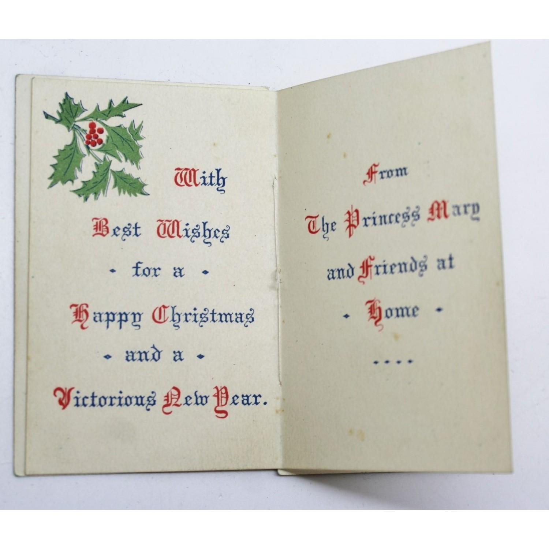 1914 princess mary christmas gift tin with christmas card photo