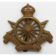 Army Cyclist Corps Cap Badge - (16 Spokes)