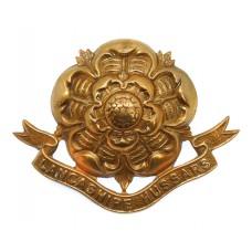 Lancashire Hussars Cap Badge