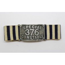 Special Constable Duty Army Band with 376 Number Plate