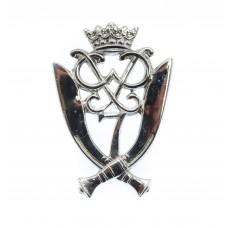 7th Gurkha Rifles Chrome Cap Badge