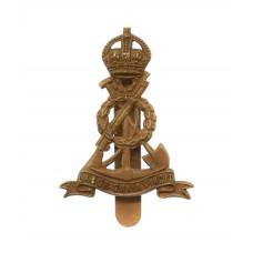 Pioneer Corps Beret Badge - King's Crown