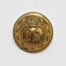 Victorian 12th Lancers Officer's Button (Small)