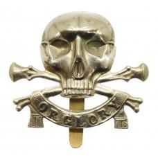 17th/21st Lancers Cap Badge (Motto)