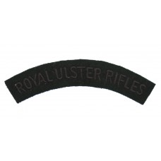 Royal Ulster Rifles (ROYAL ULSTER RIFLES) Cloth Shoulder Title