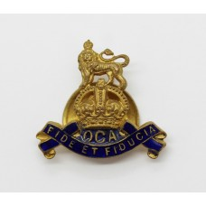 Royal Army Pay Corps Old Comrades Association (O.C.A.) Lapel Badge - King's Crown
