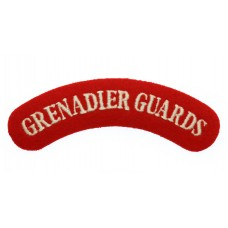 Grenadier Guards (GRENADIER GUARDS) Cloth Shoulder Title