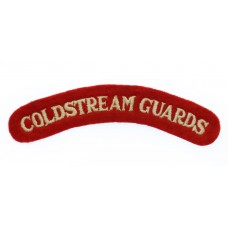 Coldstream Guards (COLDSTREAM GUARDS) Cloth Shoulder Title