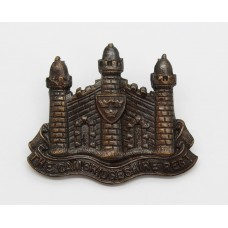 Cambridgeshire Regiment Officer's Service Dress Cap Badge