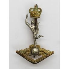 Royal Australian Corps of Signals Cap Badge - Queen's Crown