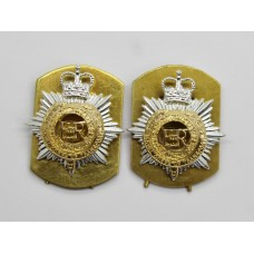 Pair of Royal Corps of Transport (R.C.T.) Anodised (Staybrite) Collar Badges