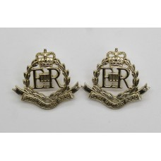 Pair of Royal Military Police (R.M.P) Anodised (Staybrite) Collar Badges