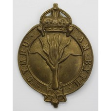 Welsh Guards Valise Badge - King's Crown