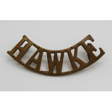 WWI Hawke Battlion Royal Naval Division (HAWKE) Shoulder Title