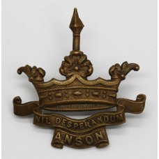 WWI Anson Battlion Royal Naval Division Cap Badge