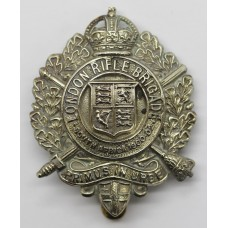 5th City of London Bn. (London Rifle Brigade) London Regiment Cap Badge