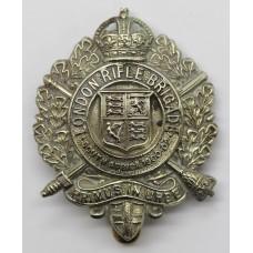 5th City of London Bn. (London Rifle Brigade) London Regiment Cap Badge