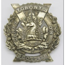 Canadian Toronto Scottish Cap Badge