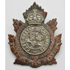Canadian Cape Breton Highlanders Cap Badge - King's Crown