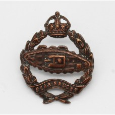 Royal Tank Regiment Officer's Service Dress Collar Badge - King's Crown