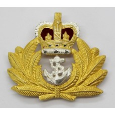 Royal Navy Officer's Beret Badge - Queen's Crown
