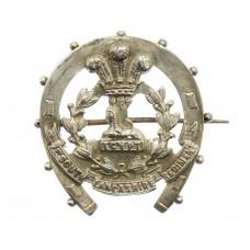 Boer War South Lancashire Regiment 1898 Hallmarked Silver Horsesh
