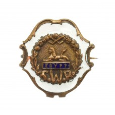 WW1 South Wales Borderers Enamelled Sweetheart Brooch