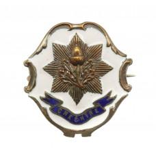 WW1 Cheshire Regiment Enamelled Sweetheart Brooch