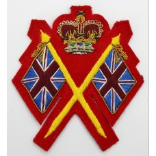 Army Recruiting Staff Arm Badge - Queen's Crown