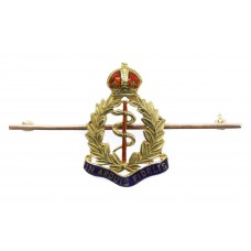 Royal Army Medical Corps (R.A.M.C.) 9ct Gold & Enamel Sweethe