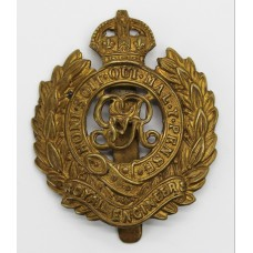George V Royal Engineers Cap Badge