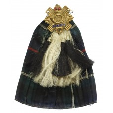 Highland Light Infantry (H.L.I.) Kilt & Sporran Sweetheart Br